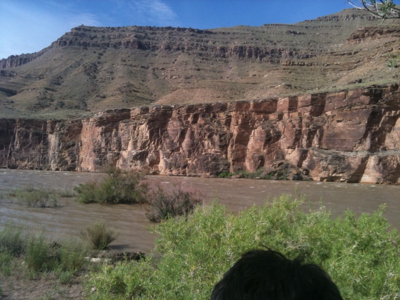 Butch Cassidy the Sundance kids hideout on the Green River