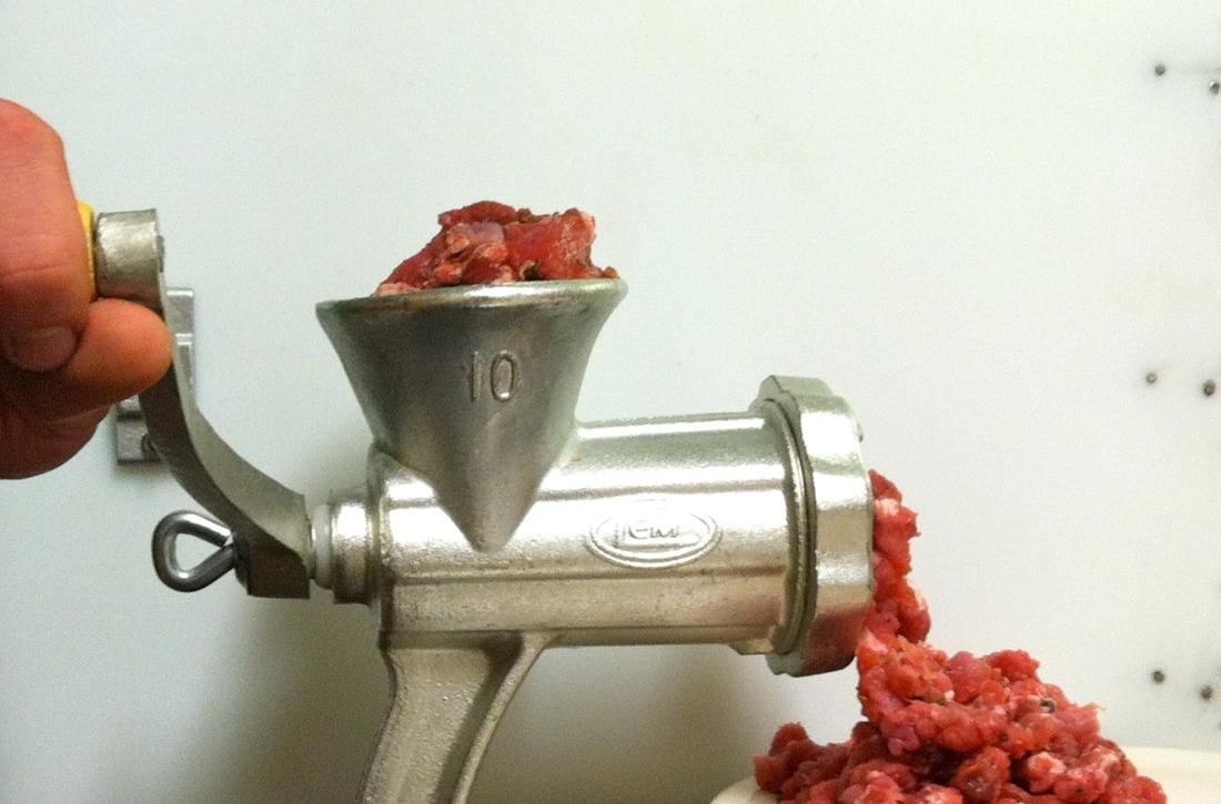 Grinding Sausage