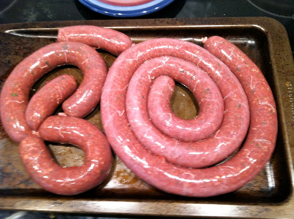 Finished Sausage