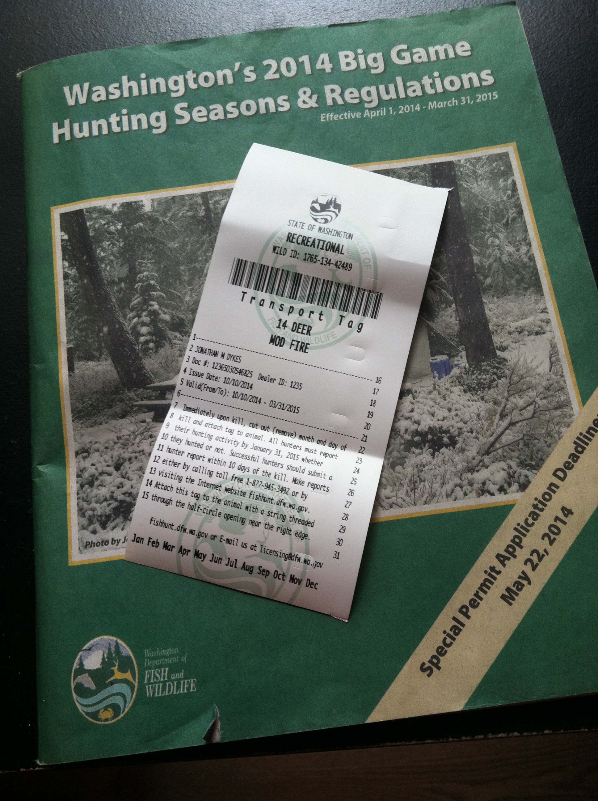 Mission alaska adventure hunting lifestyle for Washington state fishing regulations